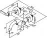 Смеситель для ванны и душа Damixa Venus 161000000-161000064